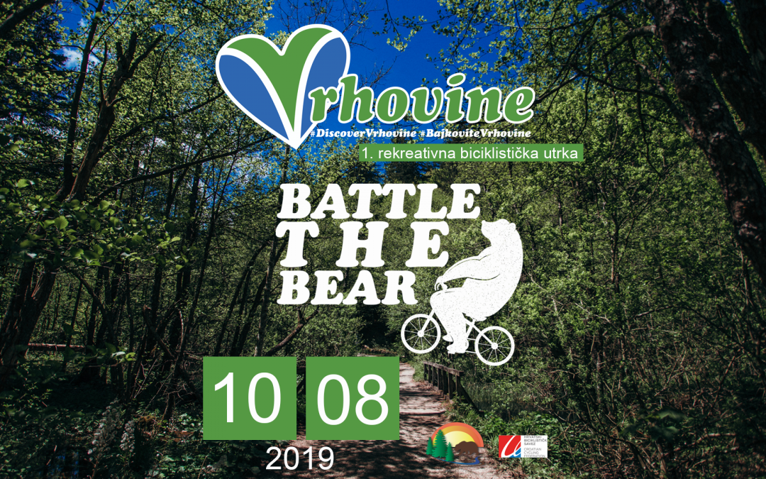 "1. rekreativna biciklistička utrka ""Battle the Bear in Vrhovine"""